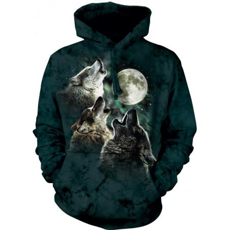 Three Wolf Moon Classic Hoodie