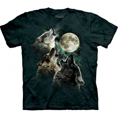 Three Wolf Moon Classic T-Shirt The Mountain