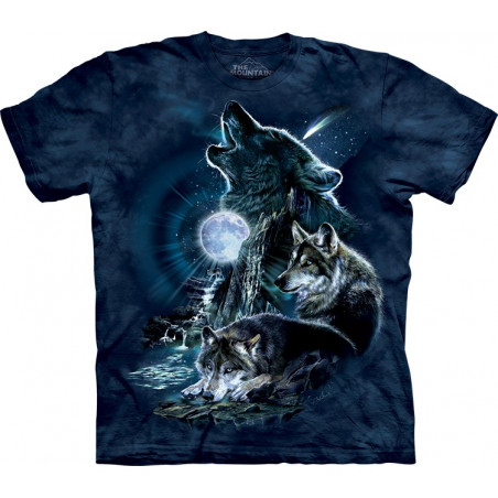 Bark at The Moon T-Shirt The Mountain