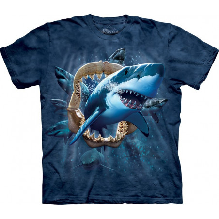 Shark Attack T-Shirt The Mountain