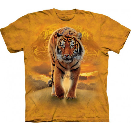 Rising Sun Tiger T-Shirt The Mountain