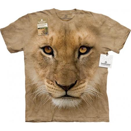 Big Face Lion Cub T-Shirt The Mountain