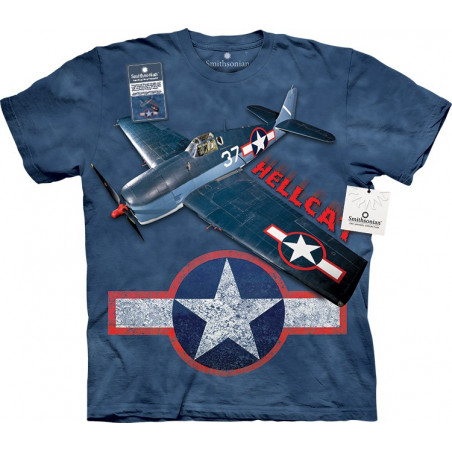 Grumman F6f Hellcat T-Shirt The Mountain