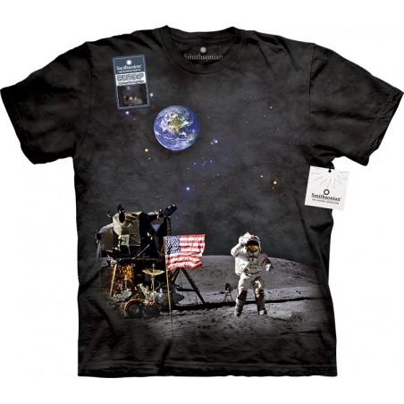 Graphic Moon Landing T-Shirt