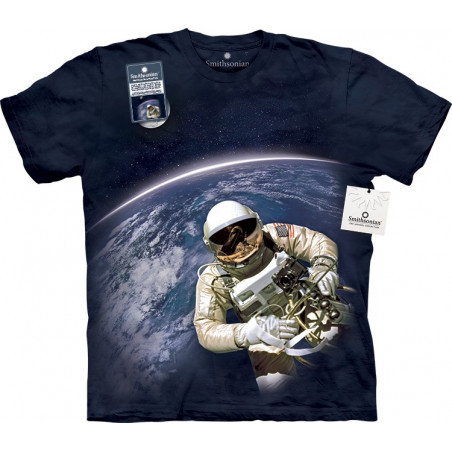 First American Space Walk T-Shirt The Mountain
