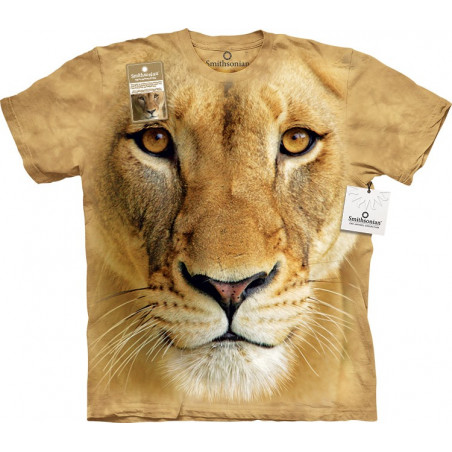 Big Face Lioness T-Shirt The Mountain