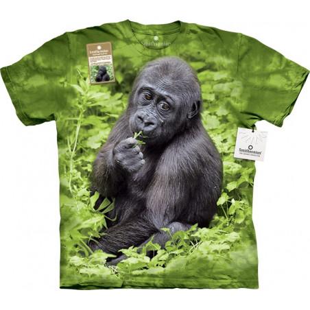 3D Animal Shirts Kojo Western Lowland Gorilla T-Shirt The Mountain