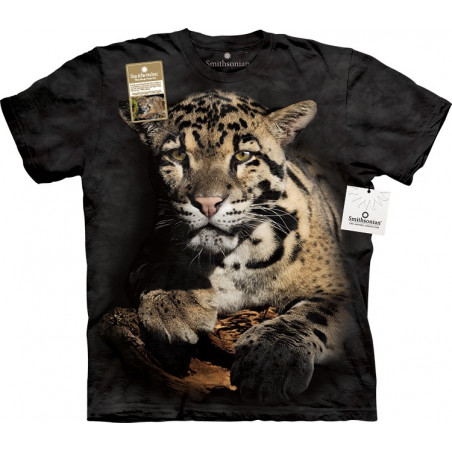 Clouded Leopard T-Shirt The Mountain