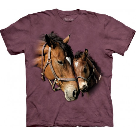 Horses Two Hearts T-Shirt