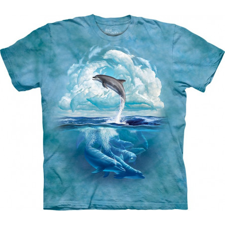 Dolphin Sky T-Shirt The Mountain