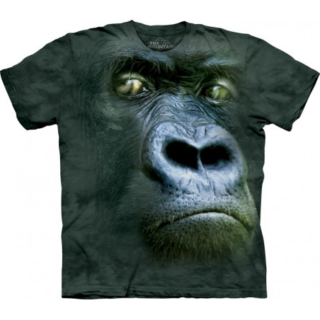 Gorilla Silverback Portrait T-Shirt The Mountain