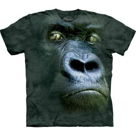 The Mountain Silverback Portrait T-Shirt