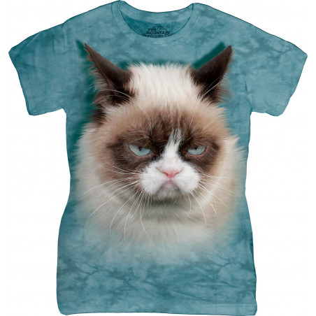 Grumpy Cat Ladies T-Shirt