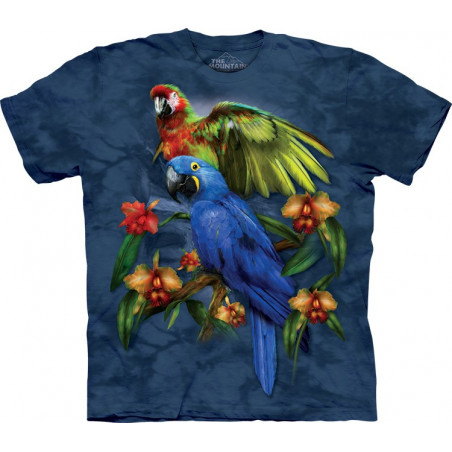 Parrots Tropical Friends T-Shirt The Mountain