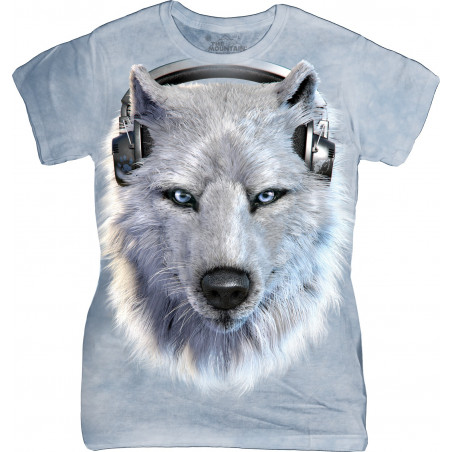 White Wolf DJ Ladies T-Shirt