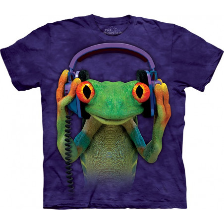 Frog DJ Peace T-Shirt