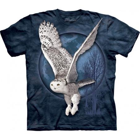 Snow Owl Moon T-Shirt The Mountain