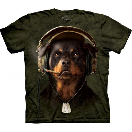 Dog DJ Sarge T-Shirt The Mountain