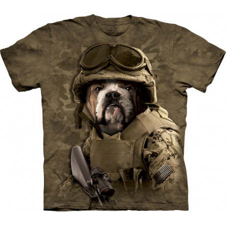 Dog Combat Sam T-Shirt