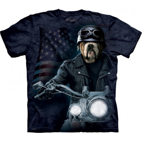 Dog Biker Sam T-Shirt