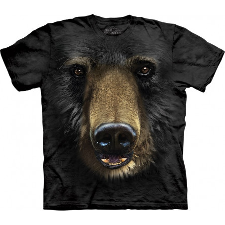 The Mountain Black Bear Face T-Shirt