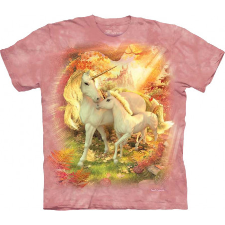 Mother and Baby Unicorn T-Shirt The Mountain