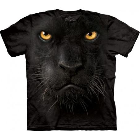 Black Panther Face T-Shirt