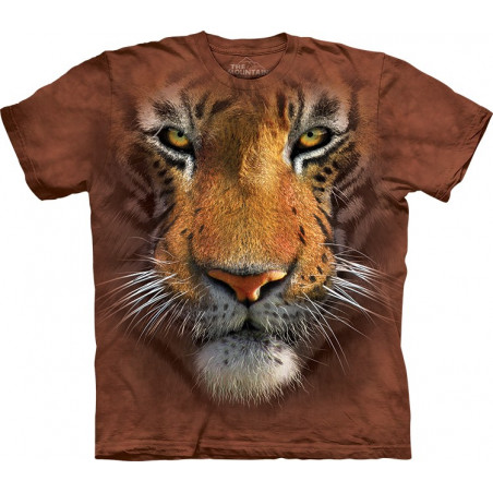 Tiger Face T-Shirt The Mountain