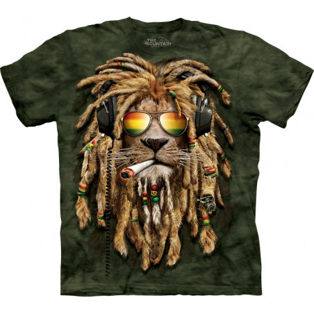 Lion Smokin Jahman T-Shirt