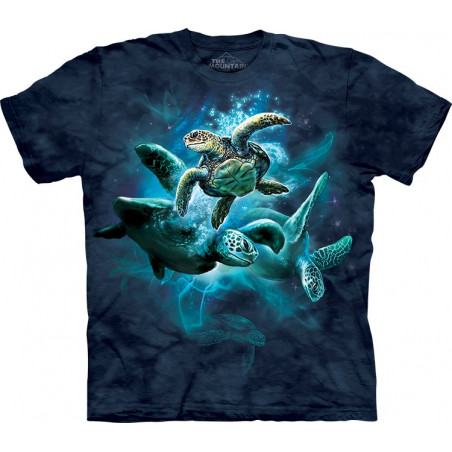 Sea Turtle Collage T-Shirt The Mountain