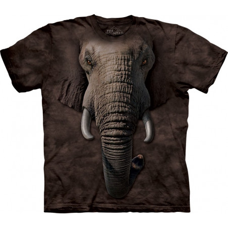 Elephant Face T-Shirt The Mountain