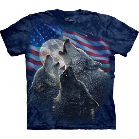 Wolf Trinity America T-Shirt