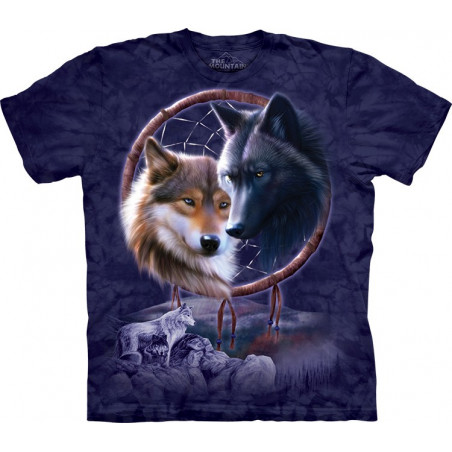 Dreamcatcher Wolves T-Shirt The Mountain