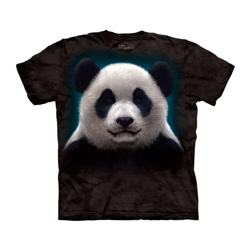 panda head t shirt. Black Bedroom Furniture Sets. Home Design Ideas