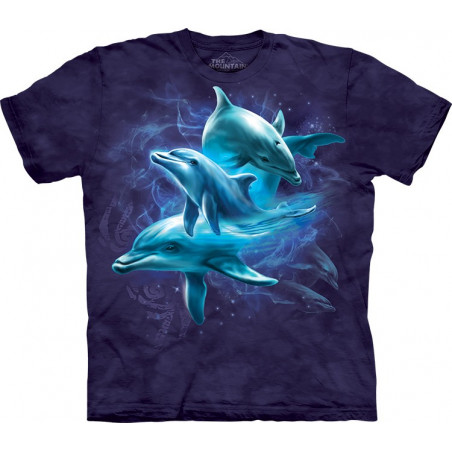Dolphin Collage T-Shirt The Mountain