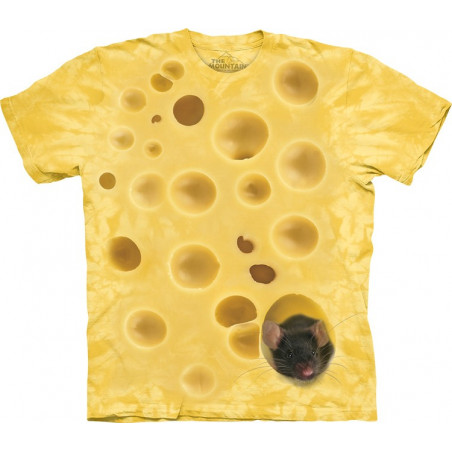 Swiss Cheese Mouse T-Shirt The Mountain