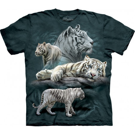White Tiger Collage T-Shirt