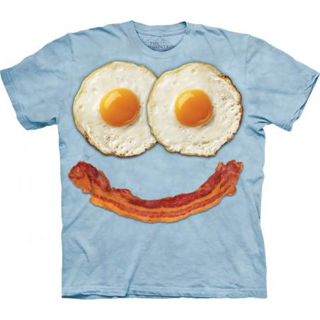 3D T Shirt Designs Egg Face T-Shirt The Mountain