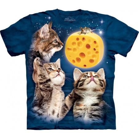 Three Kitten Cheese Moon