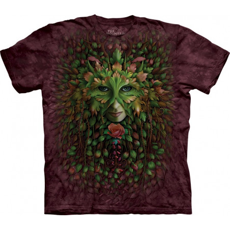 Green Woman T-Shirt The Mountain