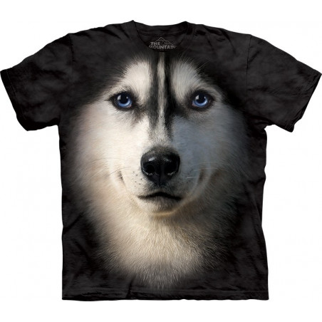 Dog Siberian Face T-Shirt