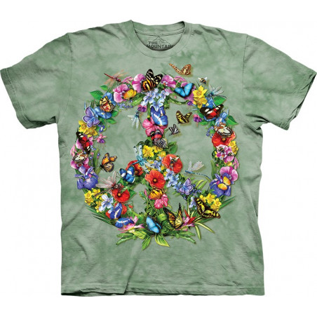 Cotton Butter Dragon Peace T-Shirt
