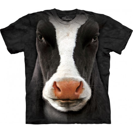 The Mountain Black Cow Face T-Shirt