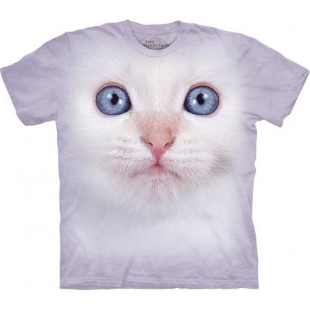 White Kitten Face