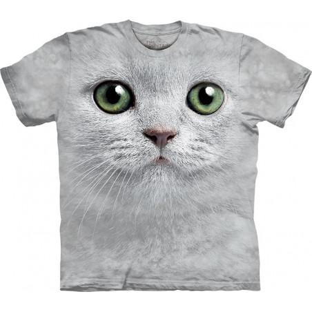 Green Eyes Face T-Shirt The Mountain