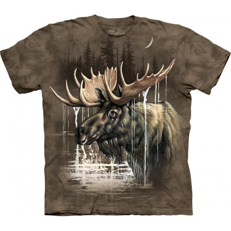 Moose Forest T-Shirt The Mountain