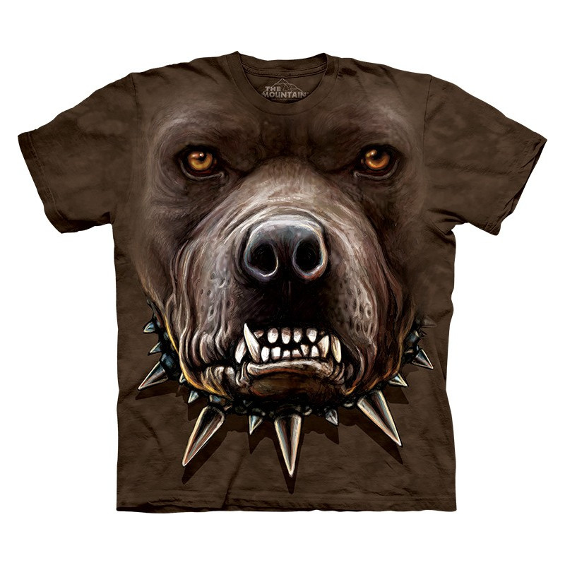 Zombie Pitbull Face