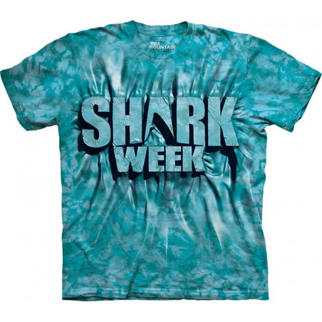 Aqua Shark Week T-Shirt