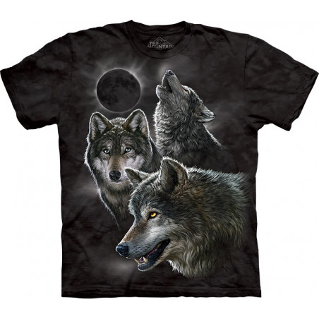 Eclipse Wolves T-Shirt The Mountain