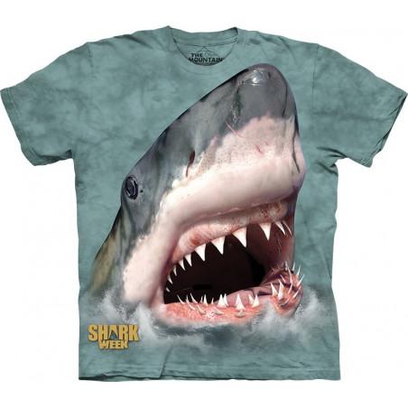 Sharktastic Green T-Shirt